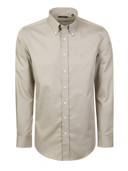Camisa em tecido liso