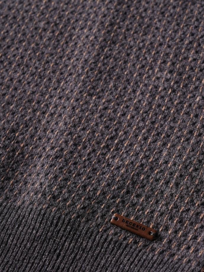Jersey estruturado cuello pico