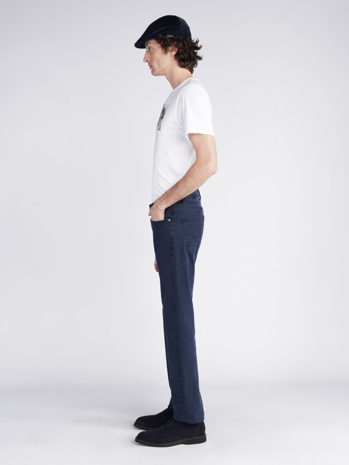 Pantalón denim regular fit