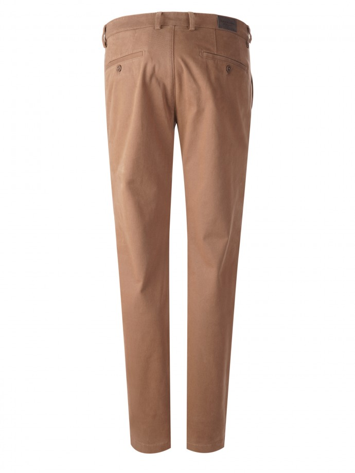 Serge slim fit chino trousers