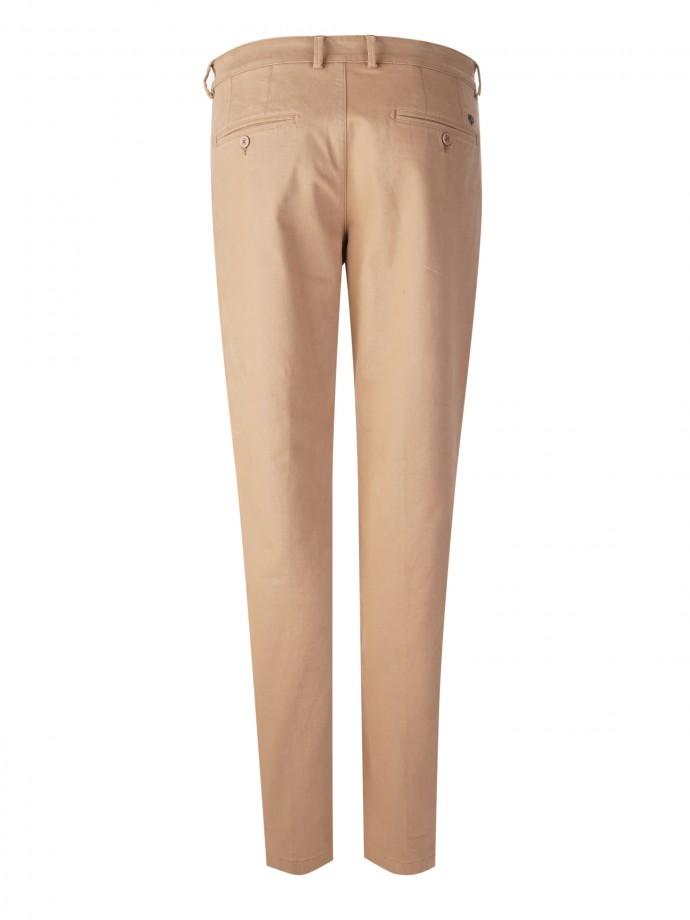 Serge regular fit chino trousers
