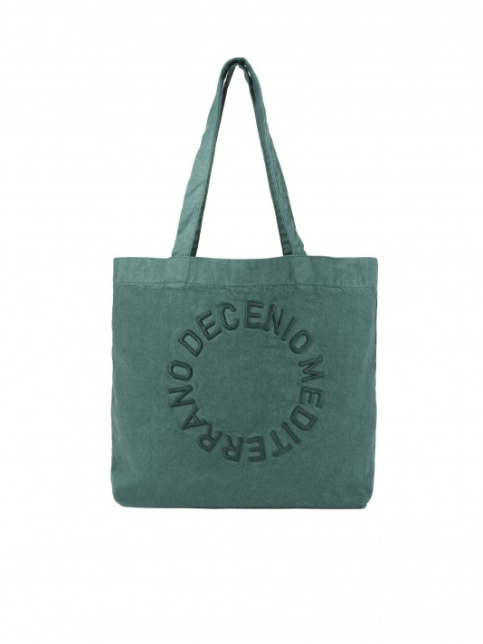 Bolsa de algodón orgánico y reciclable