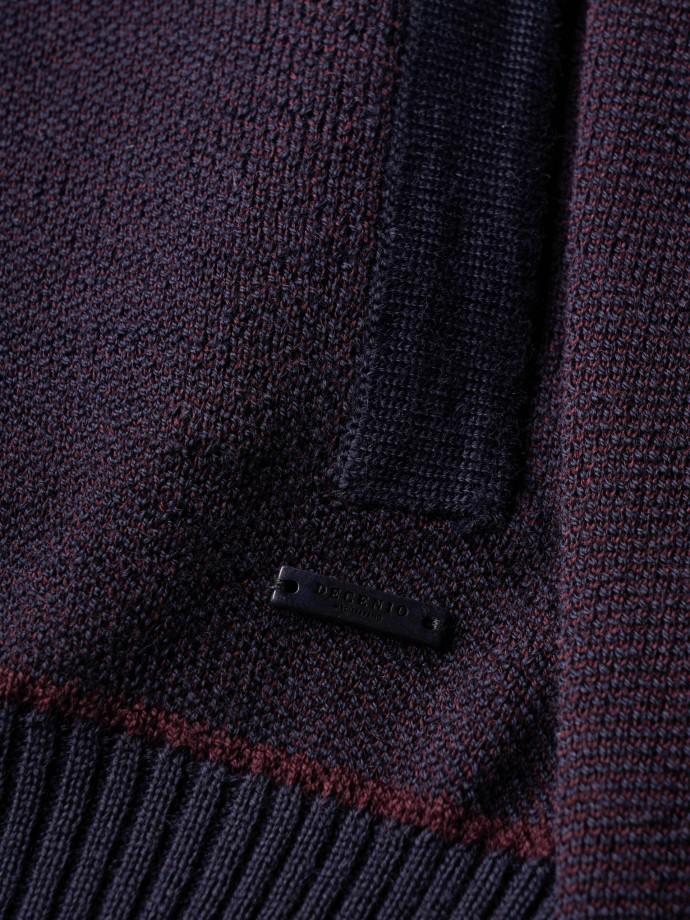 Chaqueta punto tricotado