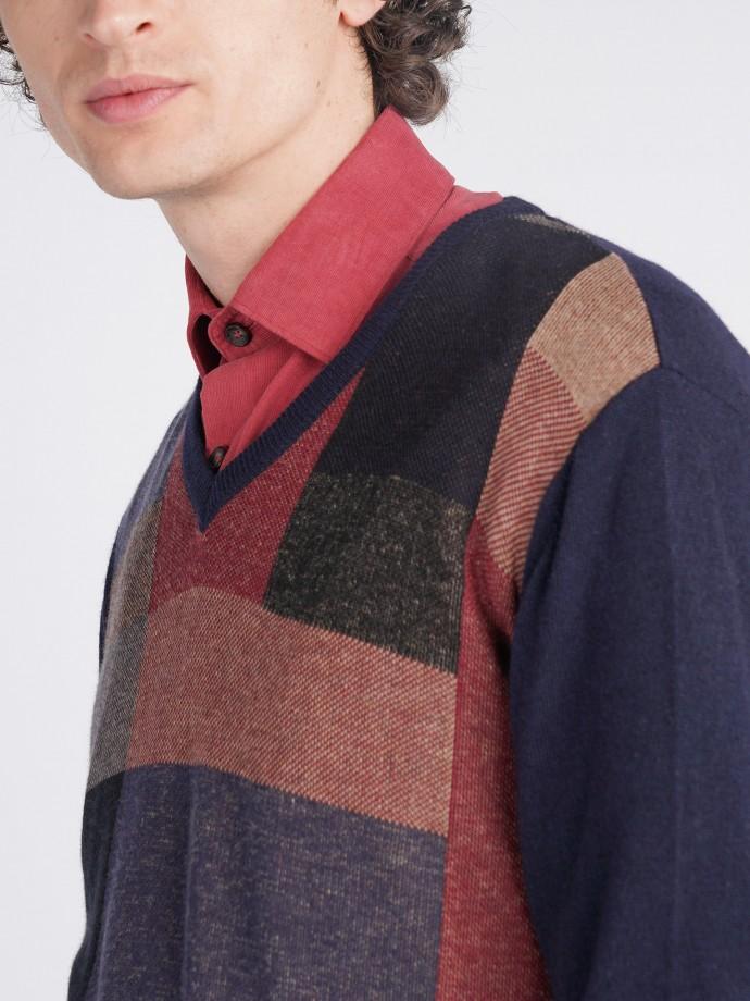 Jersey con diseño geométrico