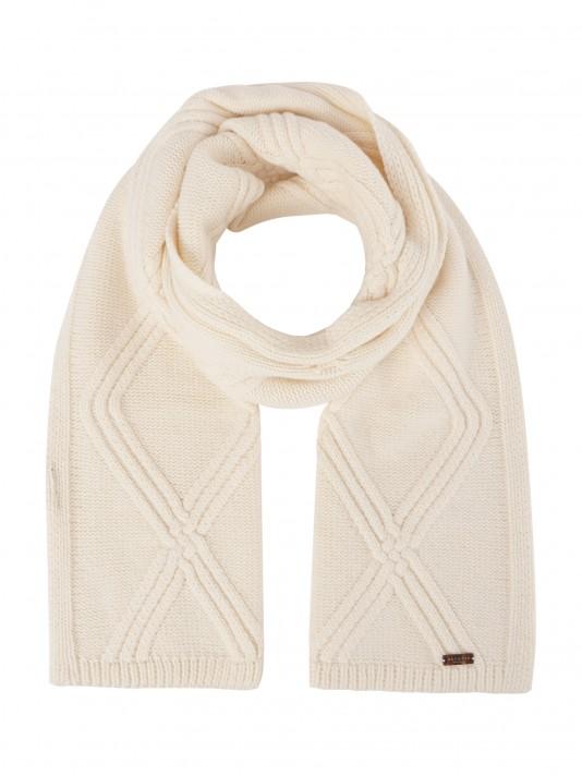 Cachecol com mistura de lã
