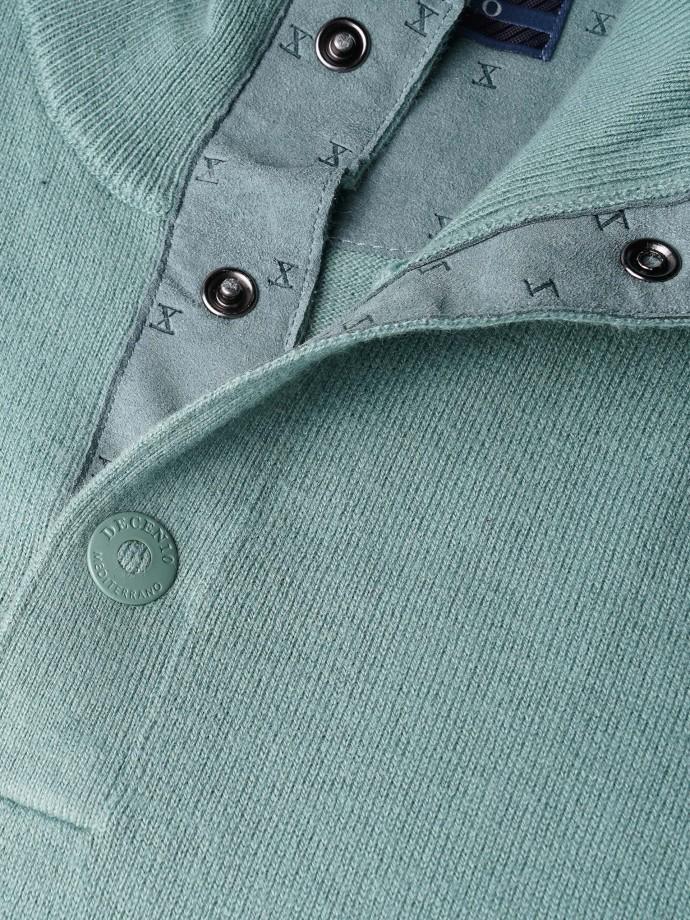 Jersey cuello alto coderas