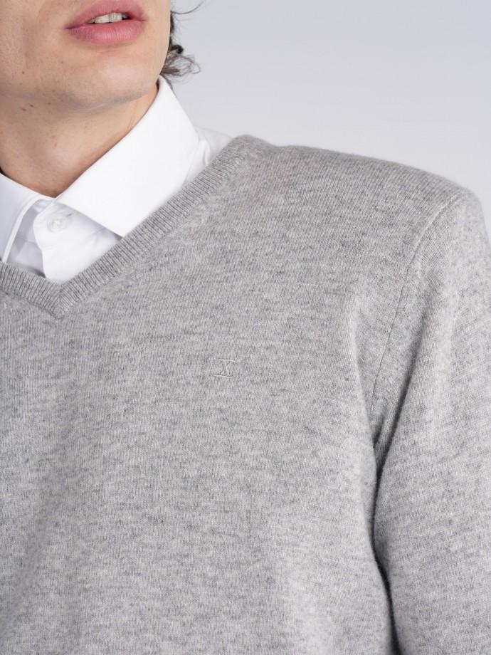 Pulover 100% lã