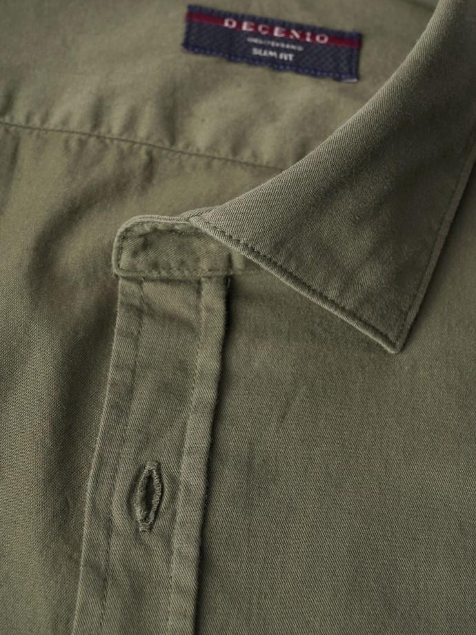 Camisa slim fit algodão macio