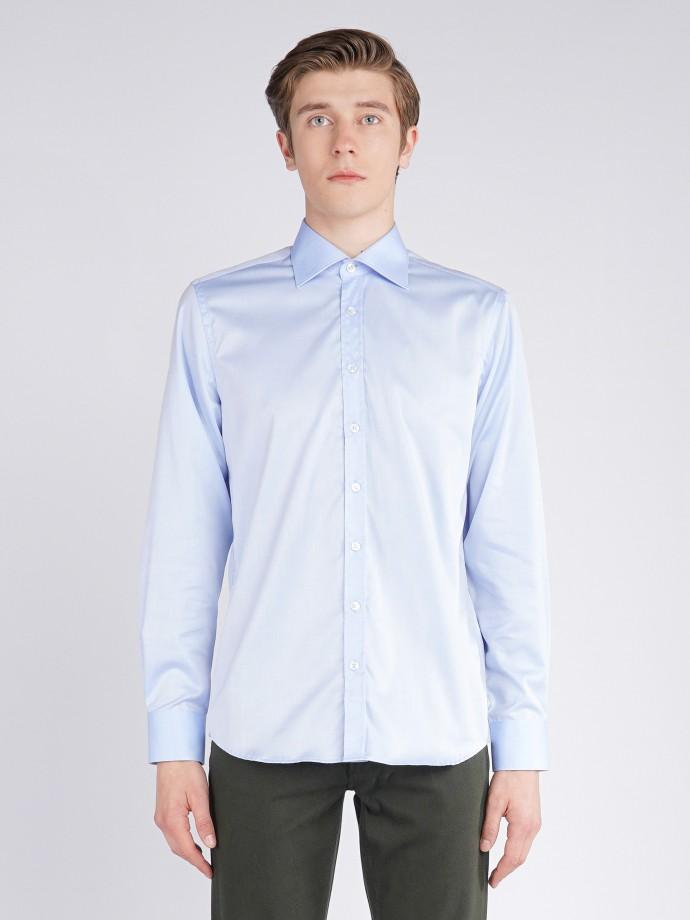 Camisa clássica pin point regular fit