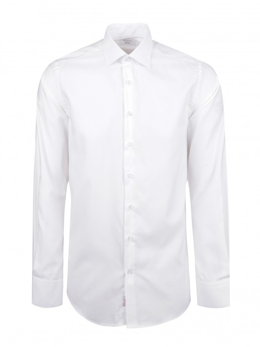 Camisa clássica pin point regular fit