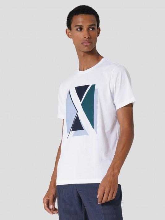 Camiseta con estampado logo
