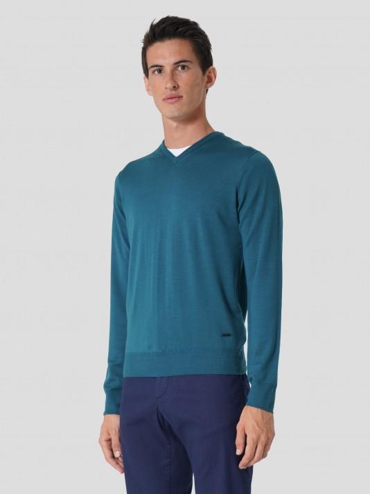 Pullover 100% merino wool