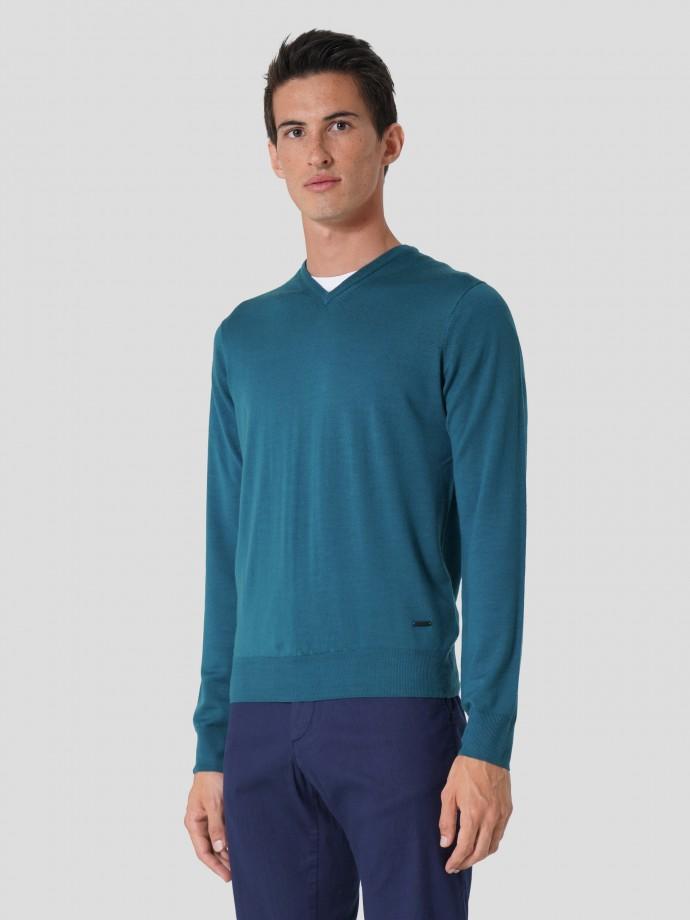 Jersey 100% lana merino