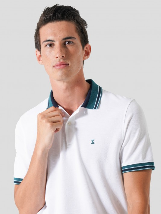 Piquet mesh polo
