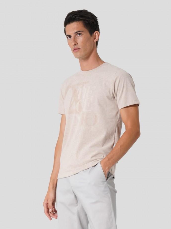 """Camiseta con estampado """"DECEN10"""""""