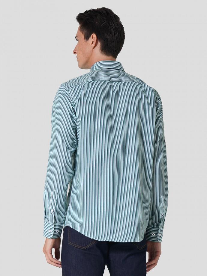 Regular fit 100% cotton shirt