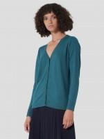 Silk and cashmere cardigan