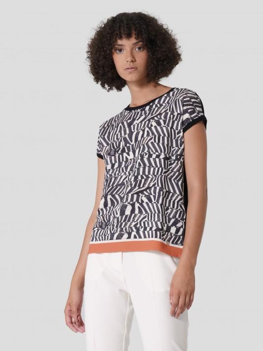 Camiseta patrón