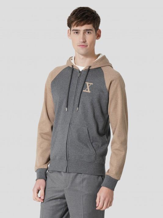 Organic cutton knit jacket