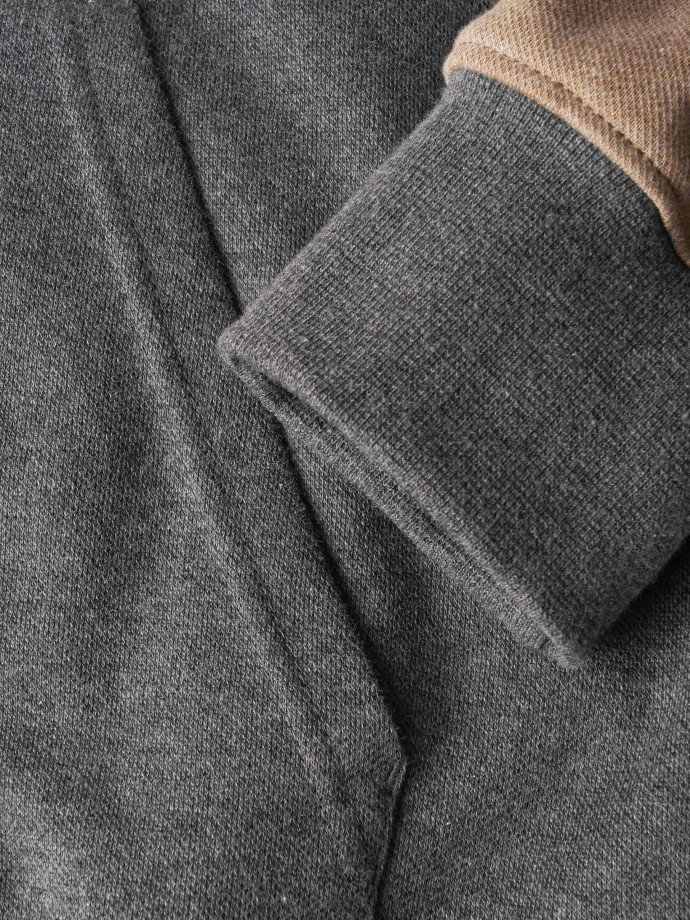 Organic cutton knit jacket