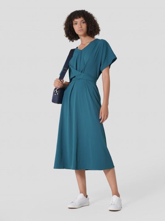 Vestido kimono midi