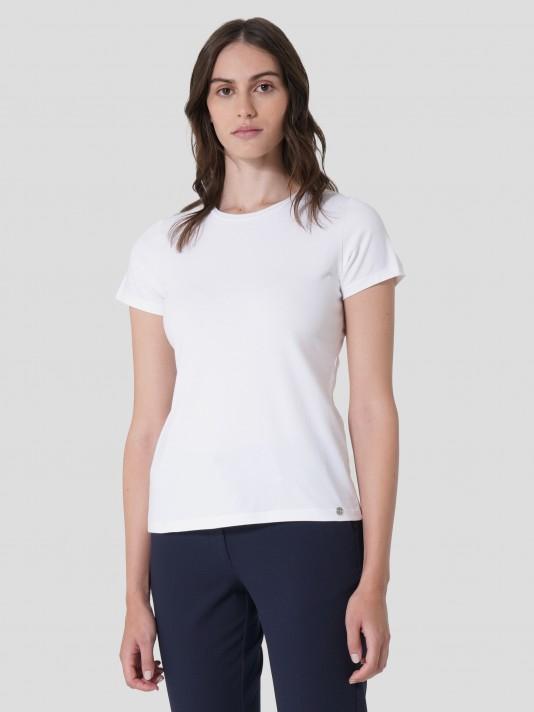 T-Shirt de algodão básica