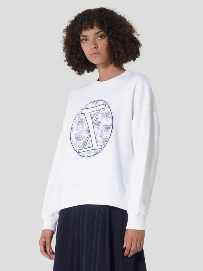 100% cotton sweat with logo