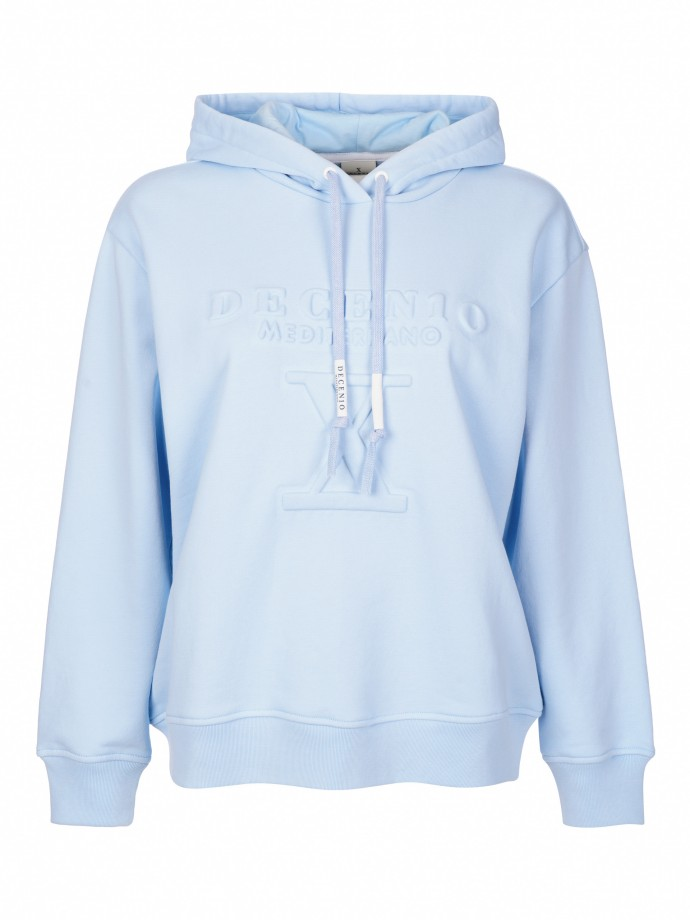 Hooded sweat 100% cotton