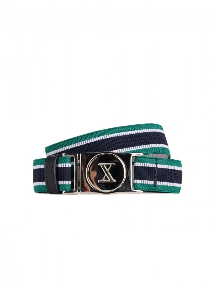 Adjustable elastic belt