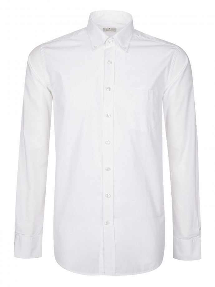 Camisa de popelina regular fit