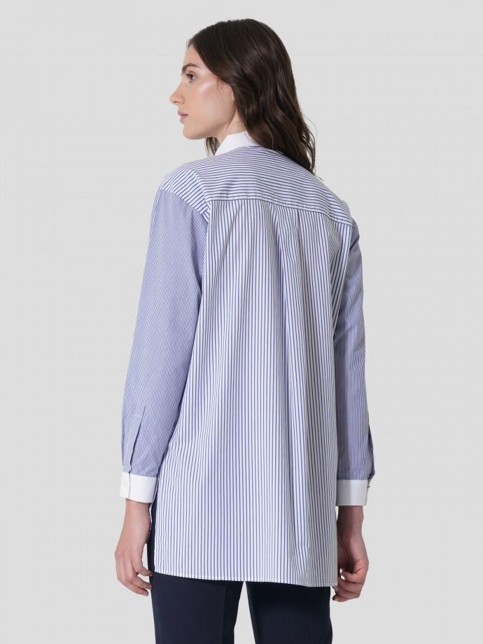 Regular tricolor fit shirt