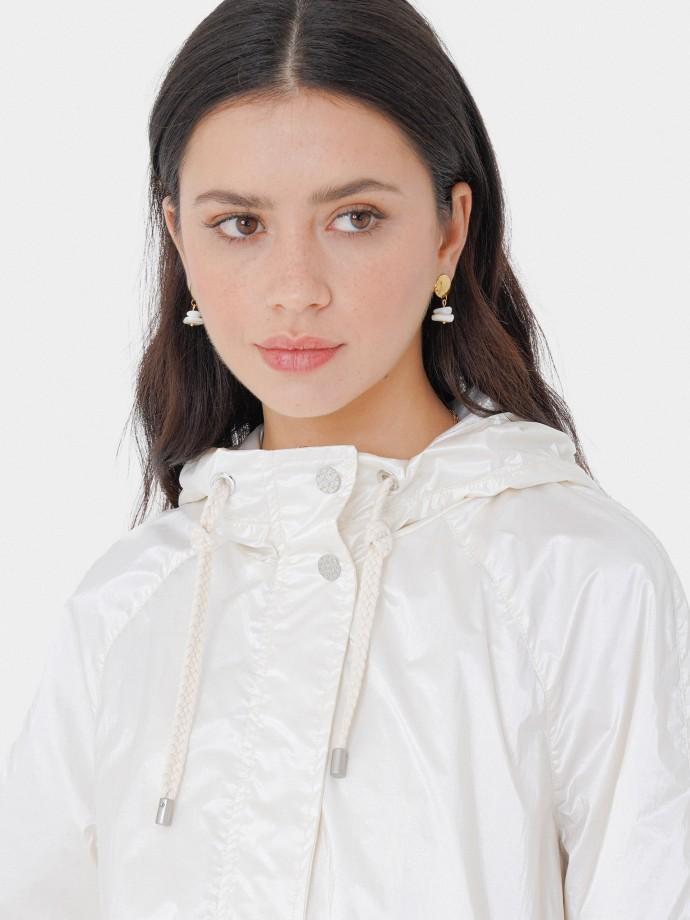 Hooded parka