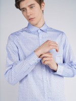 Camisa regular fit estampada