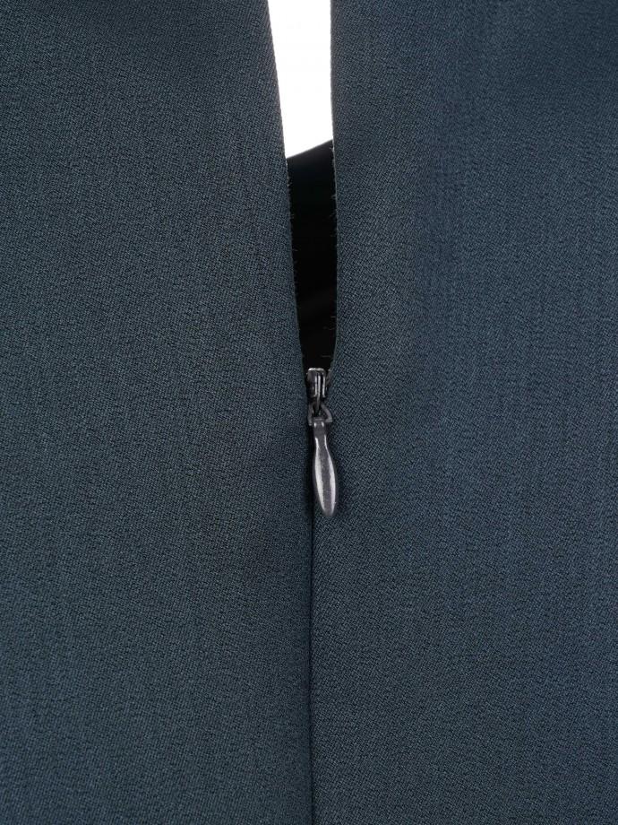 Short sleeve dress with belt