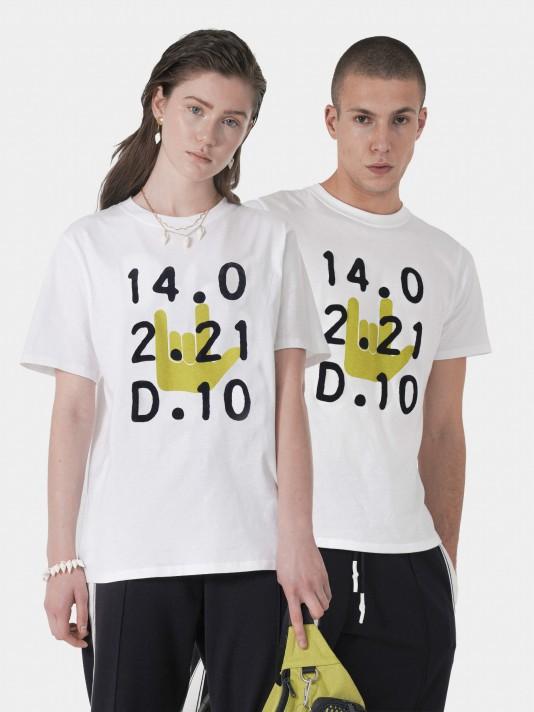 Camiseta unisex 100% algodón