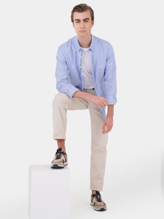 100% cotton slim fit shirt