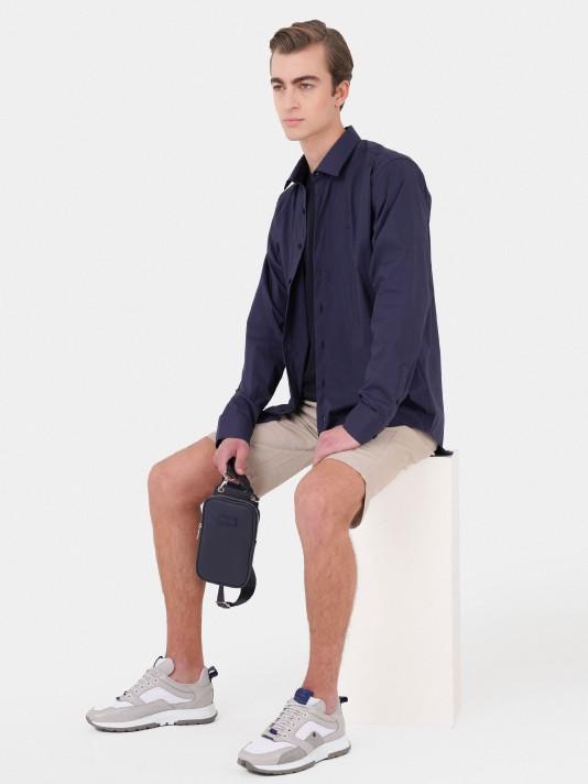 Polyamide lycra slim fit shirt