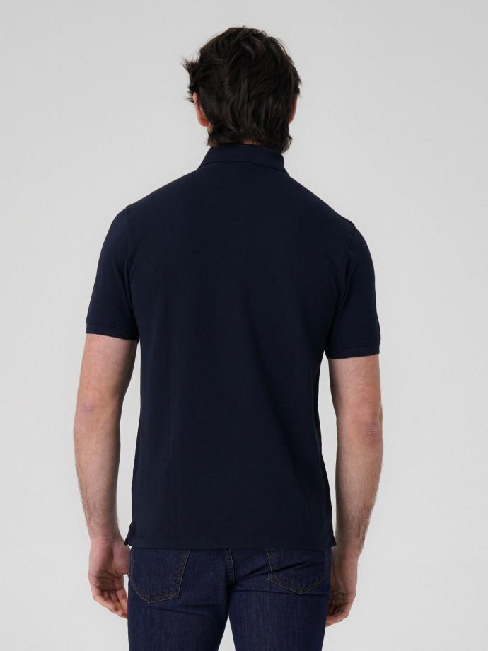 100% cotton pique polo shirt