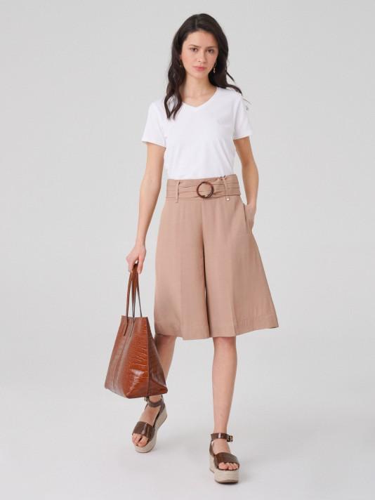Shorts cinturón