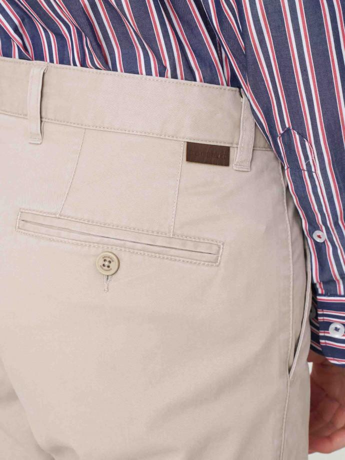 Calça chino regular fit