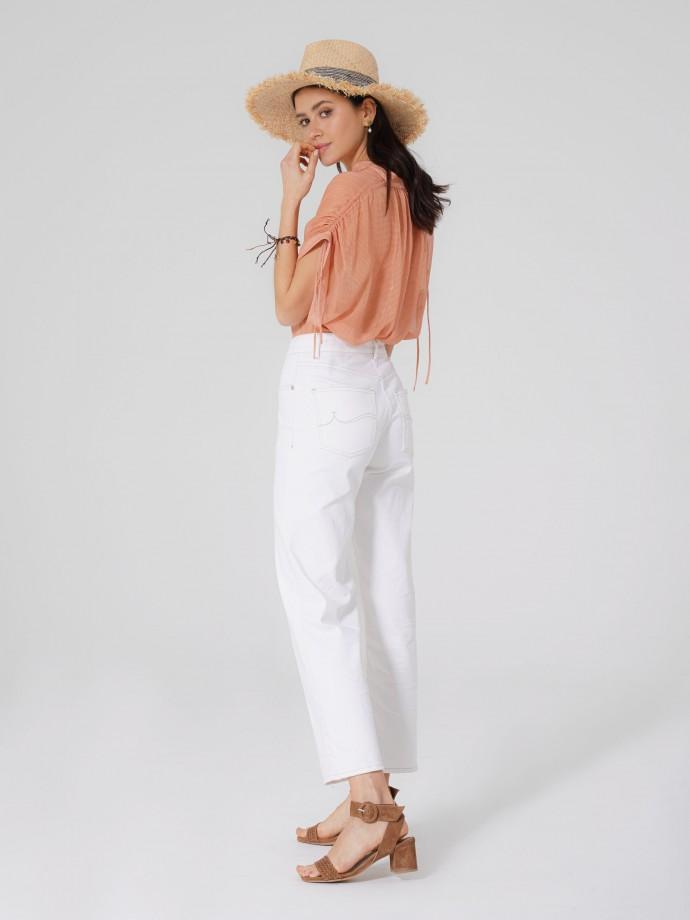 5 Pocket cotton strecht trousers