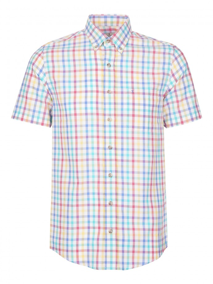 Camisa regular fit 100% algodão