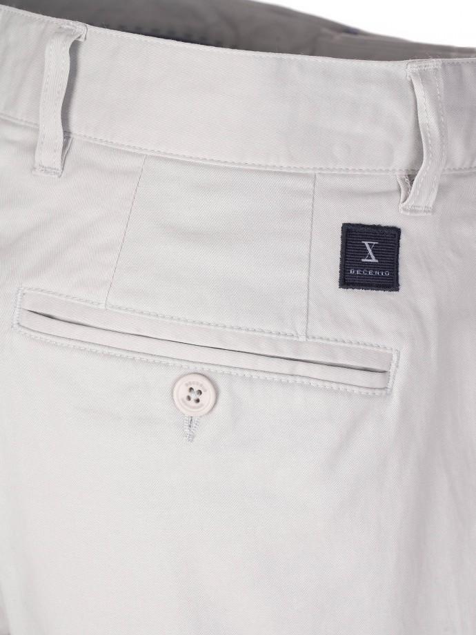 Calções bermuda em algodão stretch