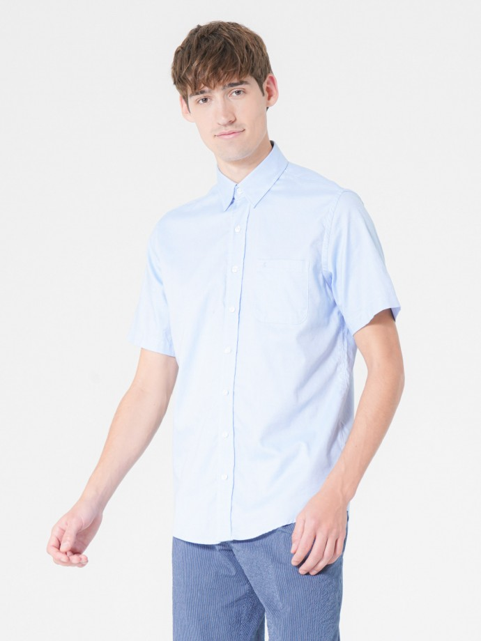 Camisa oxford regular fit