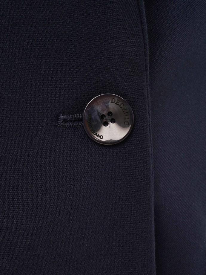 Blazer com um botão