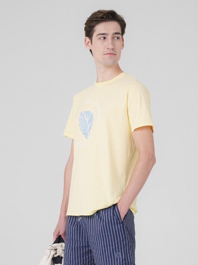 T-Shirt com estampado