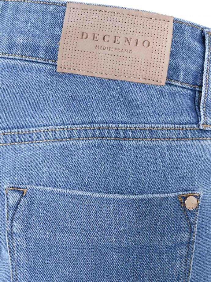 Calça denim 5 pocket skinny