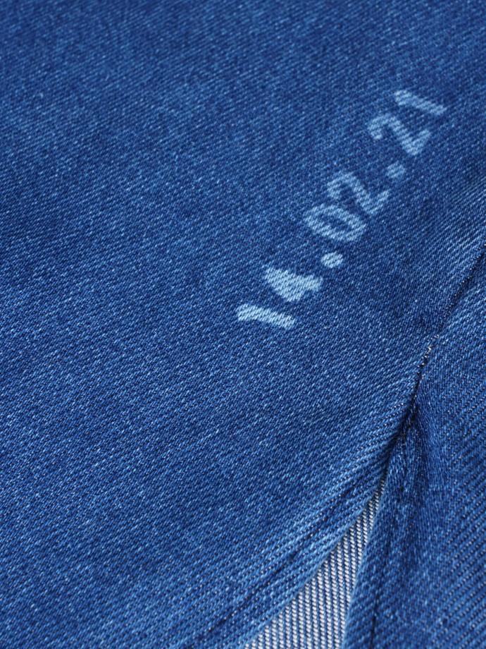 Unisex overshirt denim