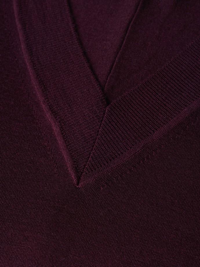 Camisola oversize 100% lã merino