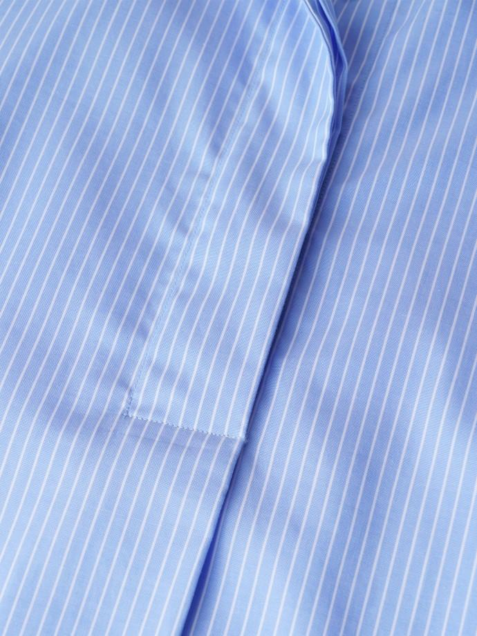 Camisa assimétrica de riscas